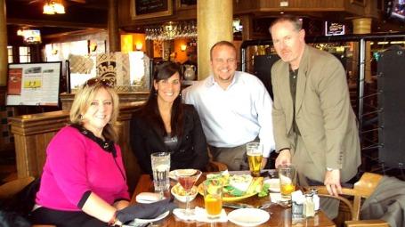 Colorado Dinner, Liz Landry, Keith Alba