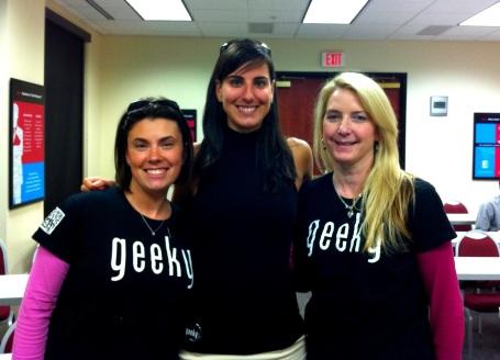 Lisa Archer, Liz Landry, Laurie Davis